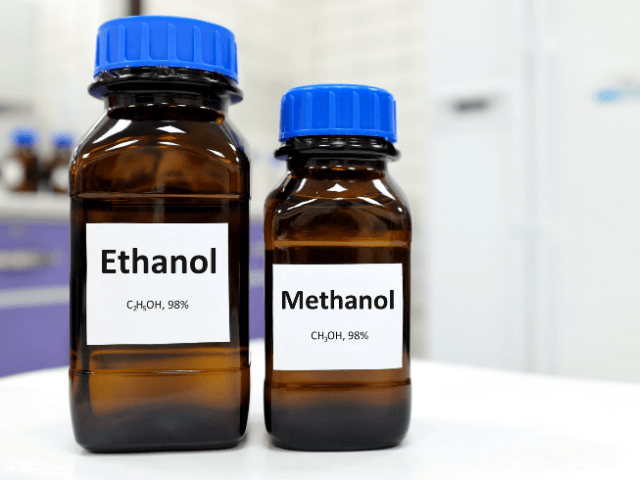 Ethanol and Methanol